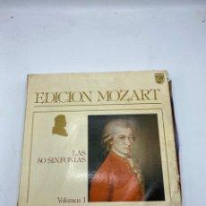 Discos de vinilo: EDICION MOZART. LAS 50 SINFONIAS. VOLUMEN 1. 16 LP'S. PHILIPS. VER FOTOS. Lote 286765038