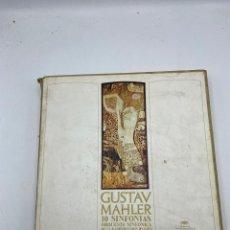 Discos de vinilo: GUSTAV MAHLER. 10 SINFONIAS. CONTIENE 14 LP'S. VER FOTOS. Lote 286765338