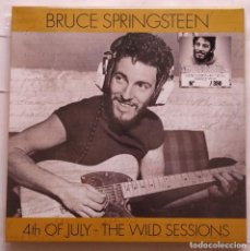 Disques de vinyle: BRUCE SPRINGSTEEN 4TH OF JULY - THE WILD SESSIONS 4-LP BOX SET MARBLED VINYL. Lote 286777818