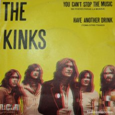 Discos de vinilo: THE KINKS. YOU CANT STOP THE MUSIC.. Lote 286786433