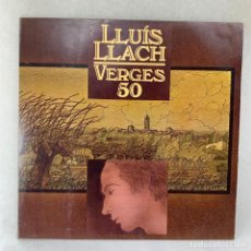 Discos de vinilo: LP - VINILO LLUÍS LLACH - VERGES 50 - DOBLE PORTADA + ENCARTE - ESPAÑA -1981. Lote 286793538