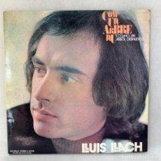 Discos de vinilo: LP - VINILO LLUÍS LLACH - COM UN ARBRE NU - DOBLE PORTADA - ESPAÑA - AÑO 1972. Lote 286798043