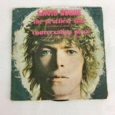 Discos de vinilo: DAVID BOWIE – THE PRETTIEST STAR - SINGLE. Lote 286800688
