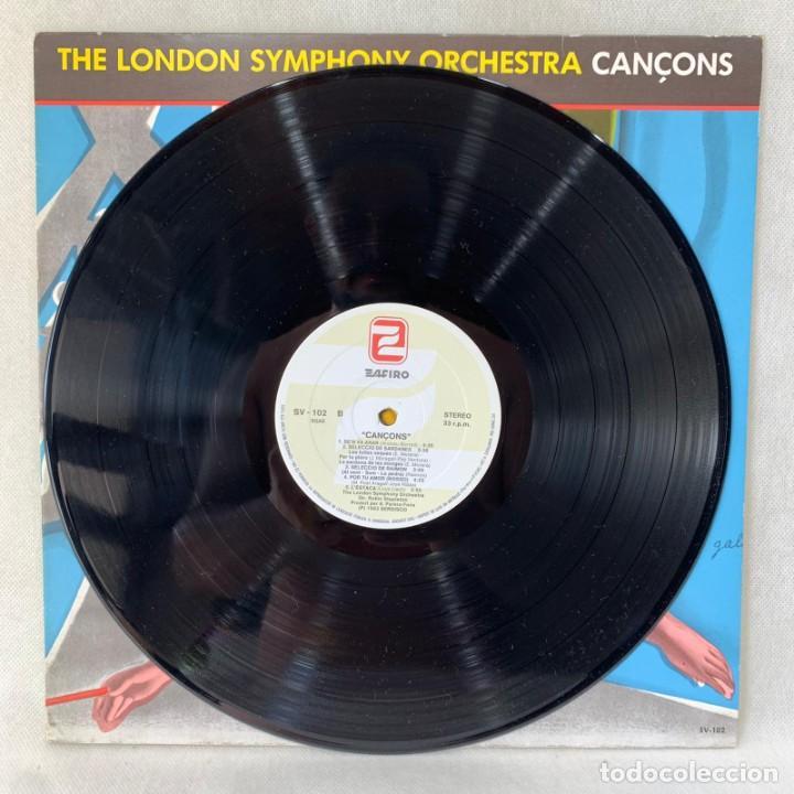 Discos de vinilo: LP - VINILO THE LONDON SYMPHONY ORCHESTRA - CANÇONS - ESPAÑA - AÑO 1983 - Foto 2 - 286803048