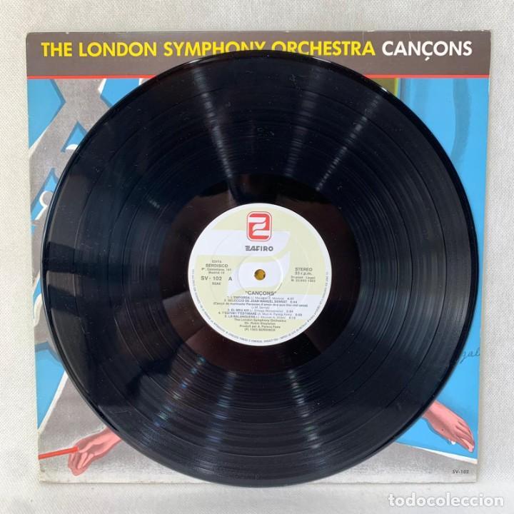 Discos de vinilo: LP - VINILO THE LONDON SYMPHONY ORCHESTRA - CANÇONS - ESPAÑA - AÑO 1983 - Foto 3 - 286803048