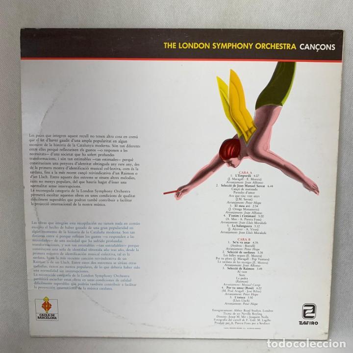 Discos de vinilo: LP - VINILO THE LONDON SYMPHONY ORCHESTRA - CANÇONS - ESPAÑA - AÑO 1983 - Foto 4 - 286803048