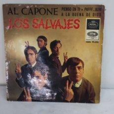 Discos de vinilo: LOS SALVAJES. Lote 286807333