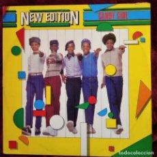Discos de vinilo: NEW EDITION - CANDY GIRL, UK 1983, LONDON RECORDS LONX 21, (EX_EX). Lote 286811598