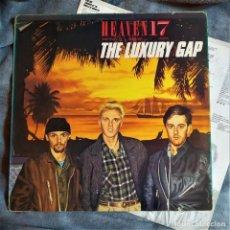 Discos de vinilo: HEAVEN 17 - THE LUXURYGAP, INSERTO, EDICIÓN UK 1983, VIRGIN – V2253 .(VG+_VG). Lote 286820383