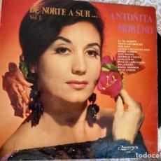 Discos de vinilo: LP ANTOÑITA MORENO-DE NORTE A SUR VOL.1. Lote 286840568