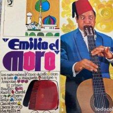 Discos de vinilo: LP EMILIO EL MORO-LOS CUATRO MULEROS. Lote 286841063