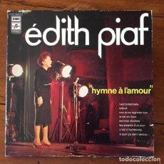 Disques de vinyle: EDITH PIAF CAJA DE COLECCIONISTA DE 3 VINILOS (LP) + LIBRETA DE FOTOS. Lote 286841388