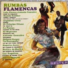 Discos de vinilo: LP RUMBAS FLAMENCAS-VARIOS. Lote 286841548