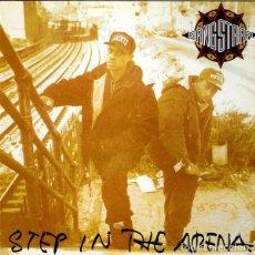 Discos de vinilo: GANG STARR LP STEP IN THE ARENA REEDICION VINILO. Lote 286857158