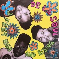Discos de vinilo: DE LA SOUL LP 3 FEET HIGH AND RISING REEDICION VINILO. Lote 286859918