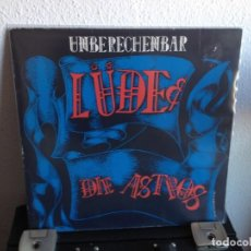 "Discos de vinilo: UNBERECHEMBAR - LÜDE DIE ASTROS / 12"" 1989 (ROCK, ROCK&ROLL) GERMANY. NM- VG+. Lote 286873988"