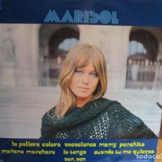 Discos de vinilo: MARISOL VEN, VEN , CUANDO TU ME QUIERAS , VACACIONES , LA POLLERA COLORA , LO TENGO , MAMY PANCHIT. Lote 286876063