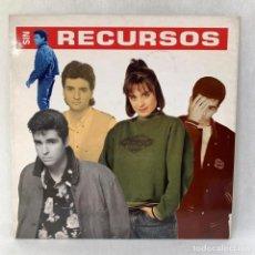 Disques de vinyle: LP - VINILO SIN RECURSOS - SIN RECURSOS - ESPAÑA - AÑO 1989. Lote 286876798