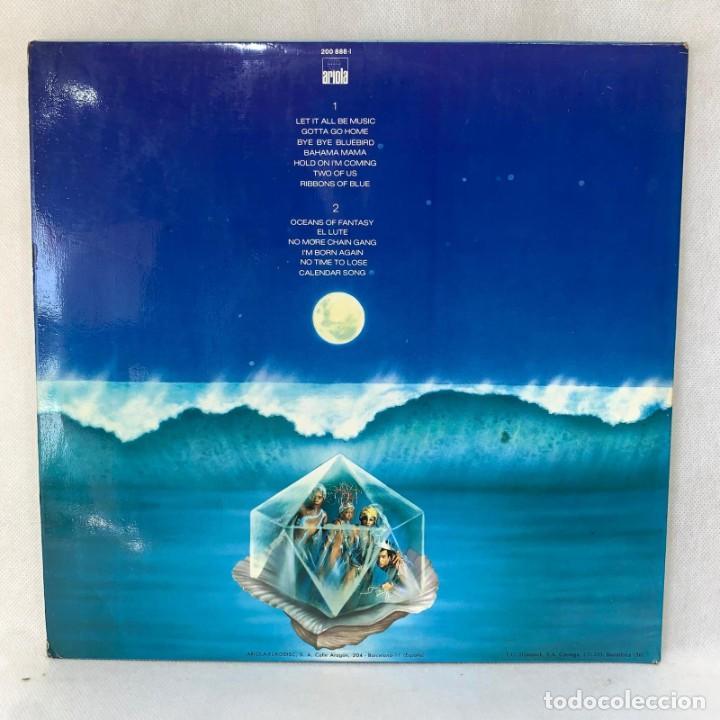 Discos de vinilo: LP - VINILO BONEY M. - OCEANS OF FANTASY - DOBLE PORTADA PÓSTER + ENCARTE - ESPAÑA - AÑO 1982 - Foto 4 - 286878218