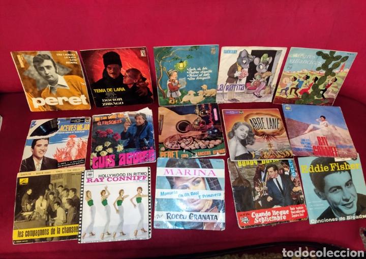 LOTE DE 35 DISCOS SINGLES VINILO VARIADOS. (Música - Discos - Singles Vinilo - Cantautores Españoles)