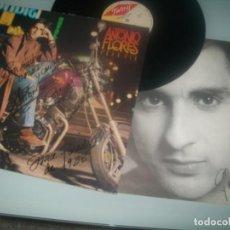 Discos de vinilo: ANTONIO FLORES - GRAN VIA .LP - FIRMADO EN LA CARPETA Y EL ENCARTE . UNA JOYA - TWINS DE 1988. Lote 286896948