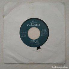 Discos de vinilo: LOS BRAVOS - SAVE ME, SAVE ME / COOL IT - (SINGLE ESPAÑOL COLUMBIA 1969). PORTADA GENERICA. Lote 286904818