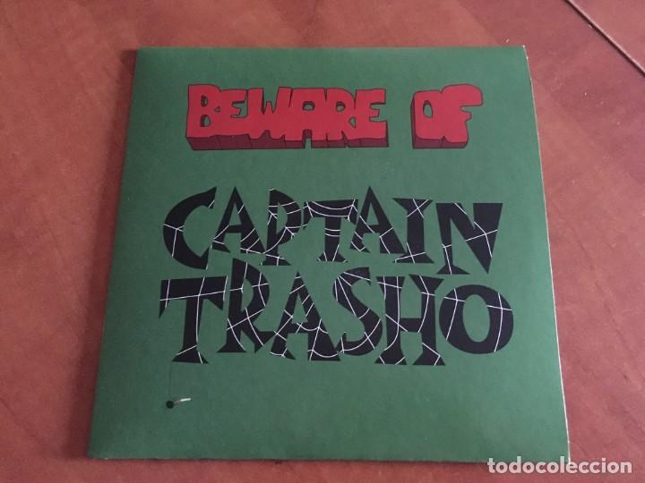 """CAPTAIN TRASHO - BEWARE OF CAPTAIN TRASHO EP VINILO 7"""" 2021 GARAGE PUNK NUEVO PRECINTADO (Música - Discos de Vinilo - EPs - Rock & Roll)"""