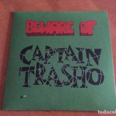 """Discos de vinilo: CAPTAIN TRASHO - BEWARE OF CAPTAIN TRASHO EP VINILO 7"""" 2021 GARAGE PUNK NUEVO PRECINTADO. Lote 286922323"""