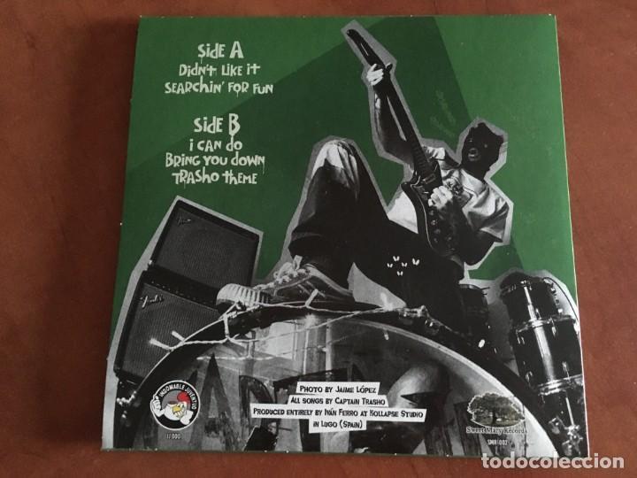 """Discos de vinilo: Captain Trasho - Beware of Captain Trasho EP vinilo 7"""" 2021 garage punk Nuevo precintado - Foto 2 - 286922323"""