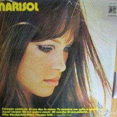 Discos de vinilo: MARISOL CORAZON CONTENTO , MUCHACHITA MARY , AQUEL VERANO , TIEMPO FELIZ , NUÑA , MI RANCHO ,. Lote 286934168