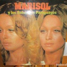 Discos de vinilo: MARISOL Y LOS BOHEMIOS PARAGUAYOS EL GAVILAN , PAISAJES DE CATAMARCA , LA PEREGRINACION ,. Lote 286934498