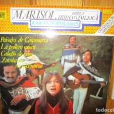 Discos de vinilo: MARISOL CANTA A HISPANOAMERICA NO VOLVERE , QUE SERA DE TI , PALOMA NEGRA , EL GAVILAN ,. Lote 286934853