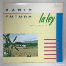 Disques de vinyle: LP - VINILO RADIO FUTURA - LA LEY DEL MAR + ENCARTE - ESPAÑA - AÑO 1984. Lote 286938403
