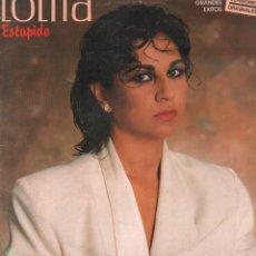 Discos de vinil: LOLITA - ESTUPIDO Y OTROS GRANDES EXITOS - VERSIONES ORIGINALES / LP CBS 1986 RF-10216. Lote 286942918