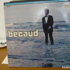 Discos de vinilo: BECAUD. Lote 286945668
