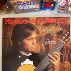 Discos de vinilo: NICOLAS DE ANGELIS-QUELQUES POUR ANNA-1981-EXCELENTE ESTADO. Lote 286958023