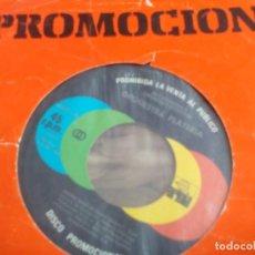 Discos de vinilo: SG. ORQUESTRA PLATERIA - PEDRO NAVAJA / ESTREMECETE (PROMO). Lote 286960738
