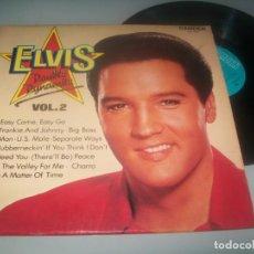 Disques de vinyle: ELVIS PRESLEY - DOUBLE DYNAMITE. VOL. 2 .LP DE CAMDEN - ED. ENGLAND - 1972. Lote 286961058