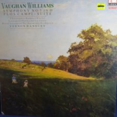 Discos de vinilo: VAUGHAN WILLIAMS. SYMPHONY N.5 IN D. RORAL LIVERPOOL PHILARMONIC ORCHESTRA. V. HANDLEY .EMI EMINENCE. Lote 286964648