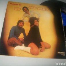 Disques de vinyle: LOS MISMOS - LO MEJOR DE LOS MISMOS ..LP ORIGINAL 1971 - BELTER - BUEN ESTADO - CARPETA ABIERTA. Lote 286964838