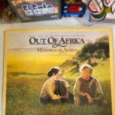 Disques de vinyle: OUT OF AFRICA-MEMORIAS DE AFRICA-1986-EXCELENTE ESTADO. Lote 286965278