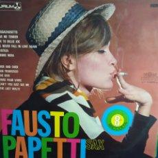 Discos de vinil: FAUSTO PAPETTI SAX 8º RACCOLTA. Lote 286965988