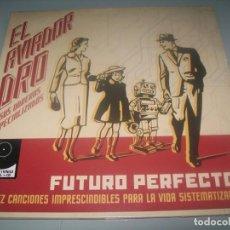 Discos de vinil: EL AVIADOR DRO Y SUS OBREROS ESPECIALIZADOS - FUTURO PERFECTO ..LP+CD - DRO - WARNER - 2019 - NUEVO. Lote 286966073