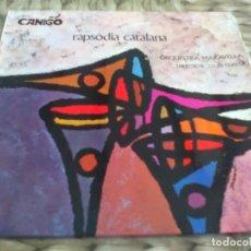 Discos de vinilo: SG. ORQUESTRA MARAVELLA - RAPSODIA CATALANA. Lote 286989868