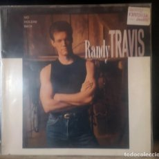 Discos de vinilo: LP - RANDY TRAVIS - NO HOLDIN BACK. Lote 286994728