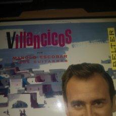 Discos de vinilo: VINILO MANOLO ESCOBAR VILLANCICOS. Lote 286996188