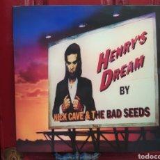 Discos de vinilo: NICK CAVE & THE BAD SEEDS–HENRY'S DREAM. LP VINILO NUEVO.. Lote 287000518