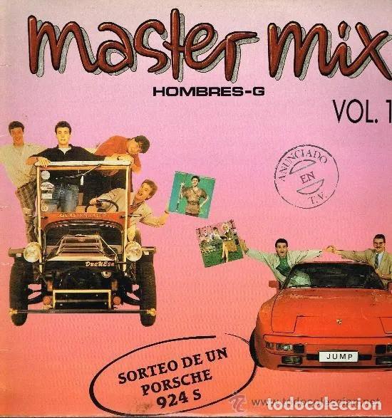 'MASTER MIX - VOL. 1', DE HOMBRE-G. MAXISINGLE VINILO. DISCOS TWINS. 2001. BUEN ESTADO. (Música - Discos de Vinilo - Maxi Singles - Grupos Españoles de los 90 a la actualidad)