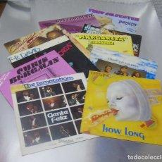 Discos de vinilo: LOTE 10 VINILOS MUSICA DISCO AÑOS 70 CALIDAD EX. Lote 287030893