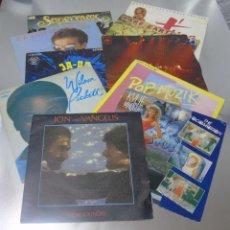 Discos de vinilo: LOTE 10 VINILOS MUSICA DISCO AÑOS 70 CALIDAD EX. Lote 287031308